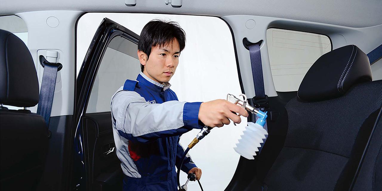 KeePer除菌・車内清掃