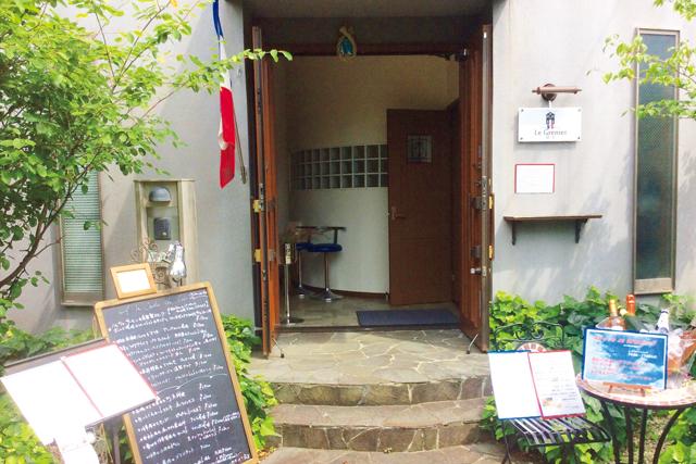 鶴岡八幡宮に程近い一軒家フレンチレストラン