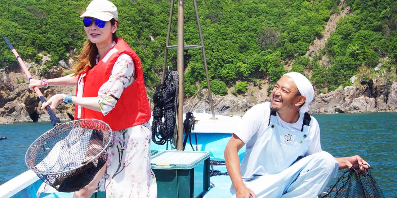 新感覚!漁船ツアー&シュノーケリング&真鯛クッキング