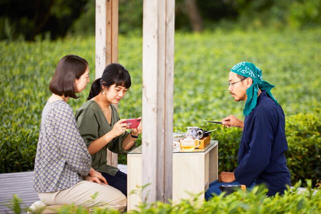日本ならではのお茶の試飲体験はまさに格別