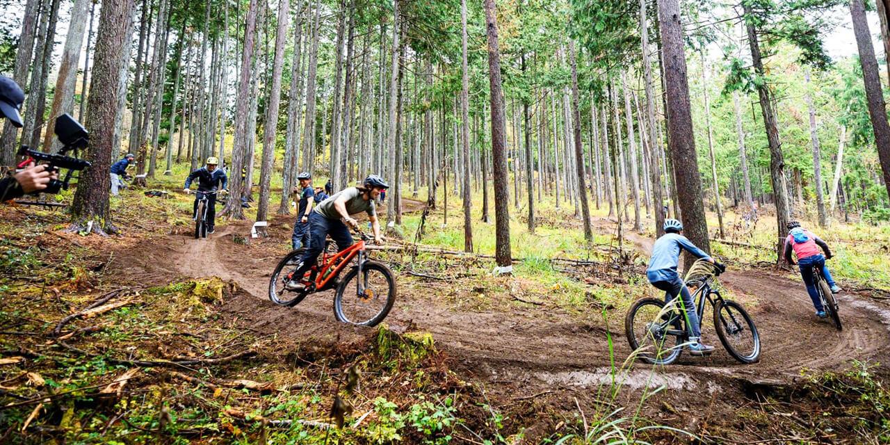 ためらっていたマウンテンバイクの山道走行を気軽に体験