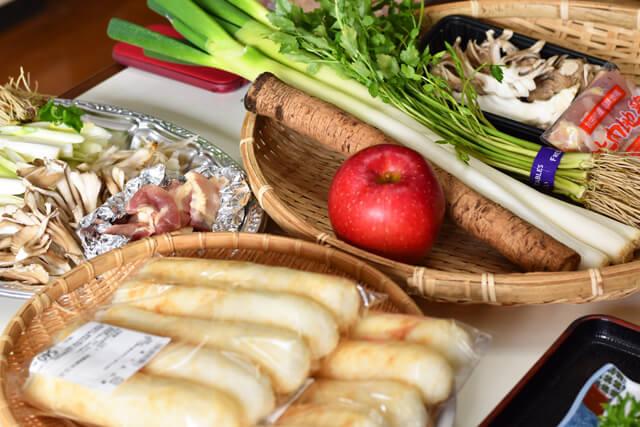 農作業体験や地元食材を使った料理教室