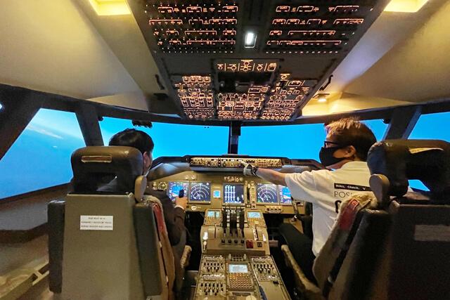 初心者もチャレンジできるフライトシミュレーター
