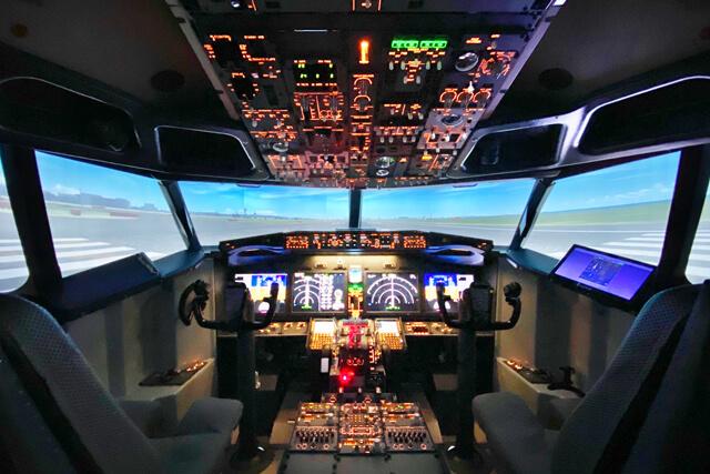 本格的なフライトシミュレーター