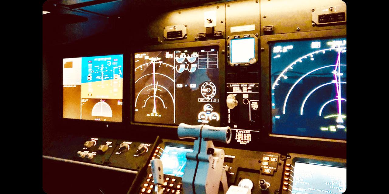 フライトシミュレーターは全部で3種類